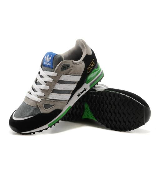 Кроссовки Adidas ZX750 Grey/White/Black/Green