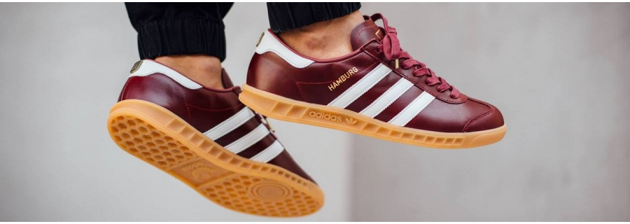 Кроссовки Adidas Hamburg (Адидас Гамбург)