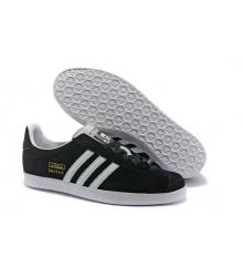 Мужские кроссовки Adidas Gazelle (Адидас Газелле) Skull Edidtion Black/White