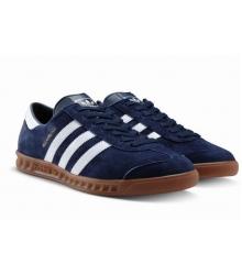 Кроссовки мужские Adidas Hamburg (Адидас Гамбург) Blue /White