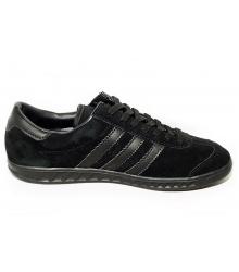 Кроссовки женские Adidas Hamburg (Адидас Гамбург) Full Black