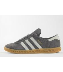Кроссовки мужские Adidas Hamburg (Адидас Гамбург) Grey