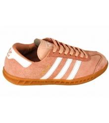 Кроссовки женские Adidas Hamburg (Адидас Гамбург) Light Orange