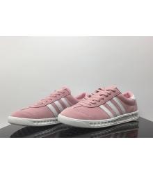 Кроссовки женские Adidas Hamburg (Адидас Гамбург) Light Pink