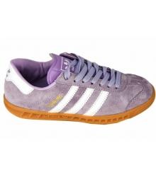 Кроссовки женские Adidas Hamburg (Адидас Гамбург) Light Purple
