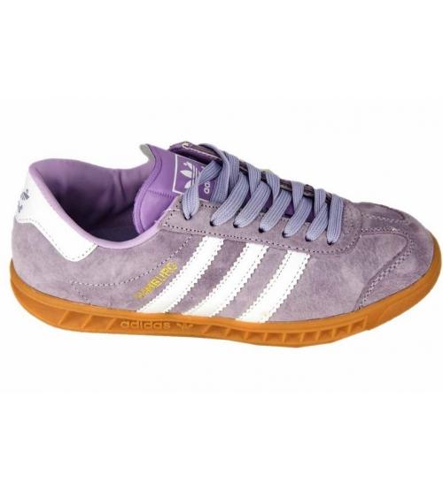 4a1b9ba8 Кроссовки женские Adidas Hamburg (Адидас Гамбург) Light Purple - 3 ...