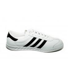 Кроссовки женские Adidas Hamburg (Адидас Гамбург) White/Black