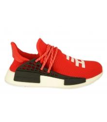 Кроссовки Adidas Hu Human Race (Адидас Хуман Расе) летние Red