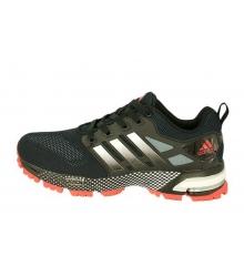 Кроссовки мужские Adidas Marathon (Адидас Марафон) Black/Red