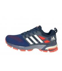 Кроссовки мужские Adidas Marathon (Адидас Марафон) Blue/Red