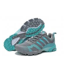 Кроссовки Adidas Marathon Flyknit Grey/Green