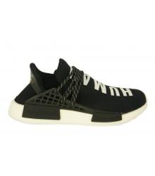Кроссовки Adidas NMD Human Race (Адидас Хуман Расе) летние Black