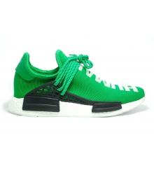 Кроссовки Adidas NMD Human Race (Адидас Хуман Расе) летние Green