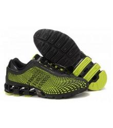 Кроссовки Adidas Porsche Design (Адидас Порше Дизайн) Run Bounce Black/Green