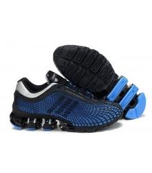 Кроссовки Adidas Porsche Design (Адидас Порше Дизайн) Run Bounce Blue/Black