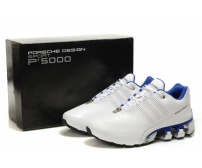Кроссовки Adidas Porsche Design Run Bounce SL P'5000 Leather White/Blue