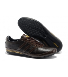 Кроссовки Adidas Porsche Design Classic (Адидас Порше Дизайн Классик) Black Brown