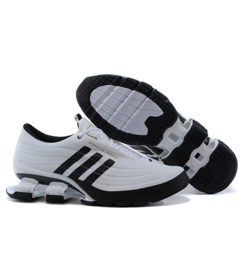 Кроссовки Adidas Porshe Design S4 (Адидас Порше Дизайн) New White