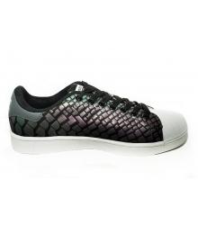 Кроссовки Adidas Superstar (Адидас Суперстар) Black/Chameleon
