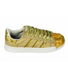 Кроссовки Adidas Superstar (Адидас Суперстар) Gold