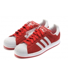 Кроссовки Adidas Superstar Red/White