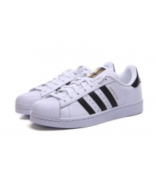 Кроссовки Adidas Superstar White/Black/Gold