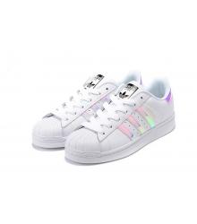 Женские кроссовки Adidas Superstar (Адидас Суперстар) White/Silver