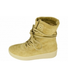 Кеды женские Adidas Yeezy Boots (Адидас Изи Бутс) Beige
