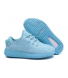 Кроссовки женские Adidas Yeezy Boost 350 Blue