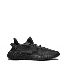 Кроссовки мужские Adidas (Адидас) Yeezy Boost 350 v2 Black