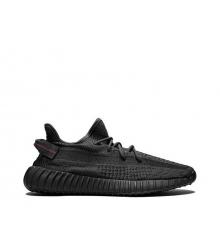 Кроссовки женские Adidas (Адидас) Yeezy Boost 350 v2 Black
