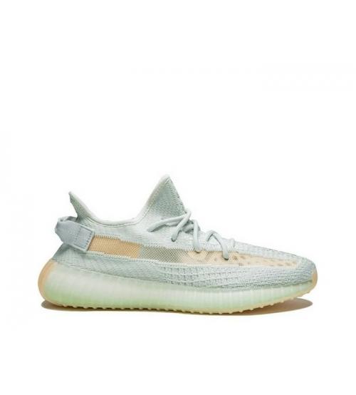 Кроссовки женские Adidas (Адидас) Yeezy Boost 350 v2 Blue/Beige