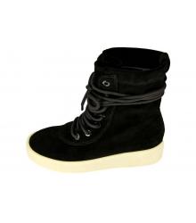 Кеды женские Adidas Yeezy Boots (Адидас Изи Бутс) Black