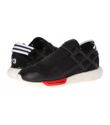 Кроссовки Adidas Yohji Yamamoto (Адидас Йоджи Ямамото) Black/Red