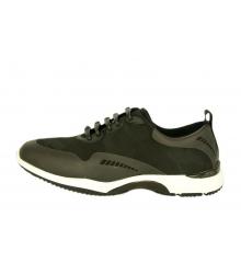 Мужские кроссовки Adidas Yohji Yamamoto (Адидас Йоджи Ямамото) комбинированные Black