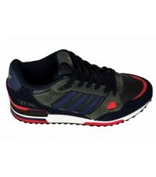 Кроссовки Adidas ZX750 (Адидас) Black/Blue/Red