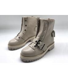 Женские ботинки Alexander McQueen (Александр Маккуин) Beige