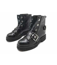 Женские ботинки Alexander McQueen (Александр Маккуин) Black