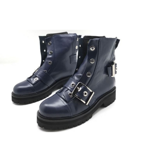Женские ботинки Alexander McQueen (Александр Маккуин) Blue