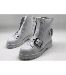 Женские ботинки Alexander McQueen (Александр Маккуин) White
