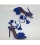 Босоножки женские Aquazzura Firenze (Эдгардо Осорио) Blue