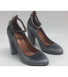 Туфли женские Aquazzura Firenze (Эдгардо Осорио) летние Grey