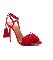 Босоножки женские Aquazzura Firenze (Эдгардо Осорио) Red