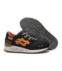 Кроссовки Asics (Асик) Gel Saga Black/Yellow