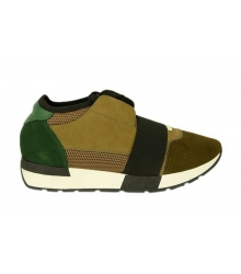 Кроссовки Balenciaga (Баленсиага) Beige/Green
