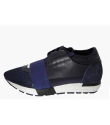 Кроссовки мужские Balenciaga (Баленсиага) Black/Blue