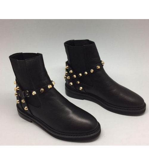 Ботинки женские Balenciaga (Баленсиага) Black/Gold