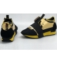 Женские кроссовки Balenciaga (Баленсиага) Black/Gold