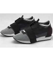 Женские кроссовки Balenciaga (Баленсиага) Black/Grey