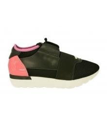 Женские кроссовки Balenciaga (Баленсиага) Black/Pink